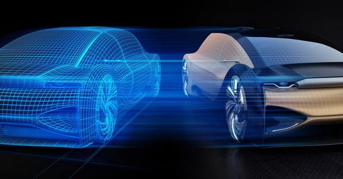 Automotive Digital Twin - Social Post Res